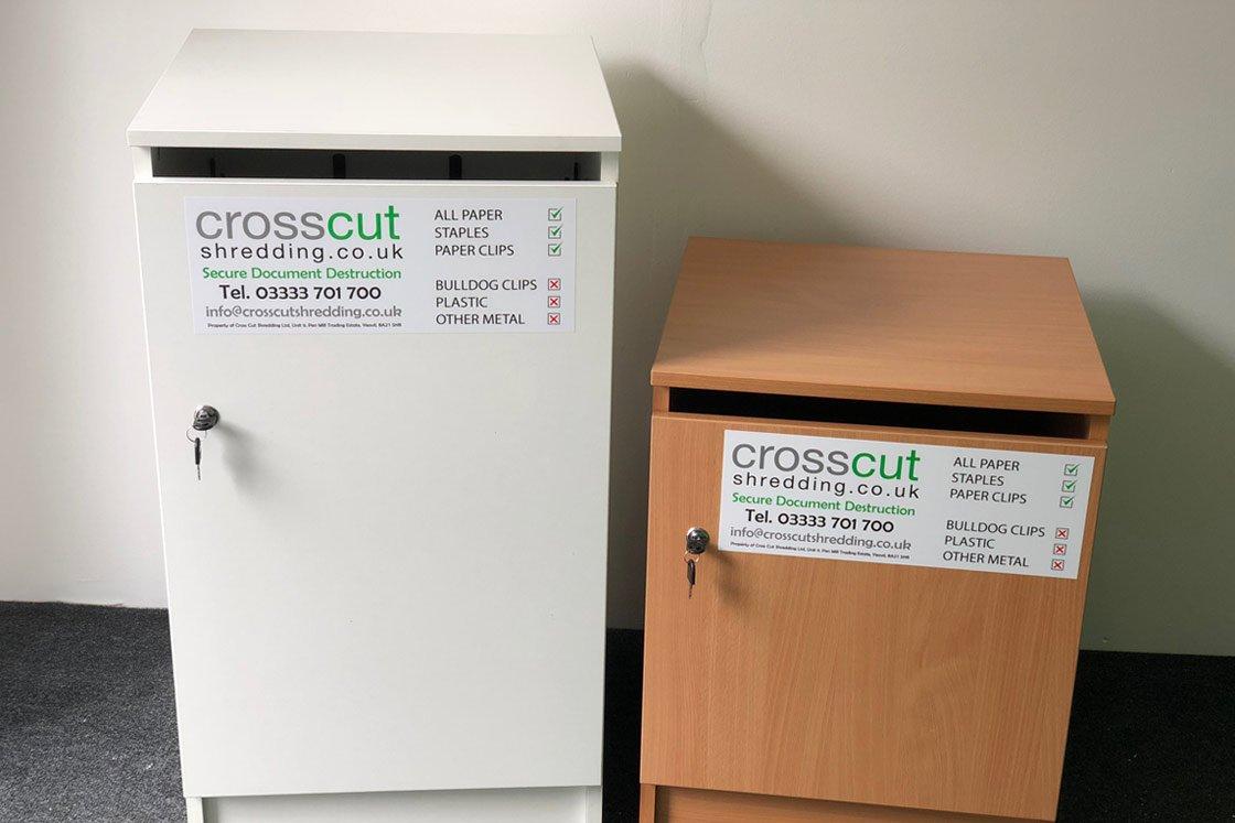 Crosscut Shredding Office Furniture