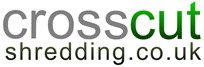 Crosscut Shredding Logo
